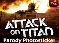 進擊的巨人漫畫相機 Attack on Titan - Photosticker V1.9
