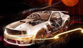 重力感應赛车遊戲