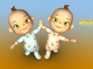 會說話的雙胞胎 Talking Baby Twins V1.3