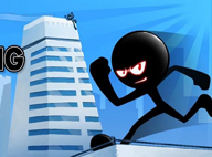 火柴人屋頂跑酷Stickman roof running V1.0