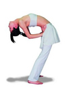 貓伸展式減肥瑜伽 塑造S身型(圖)
