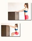 3個動作減肚子瘦手臂(圖)