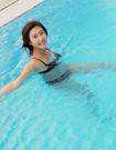 """天天游泳享""""瘦""""水的威力"""